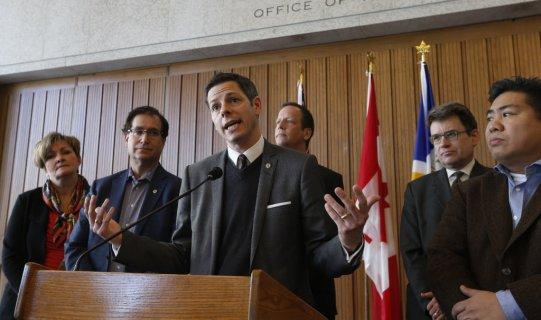 Winnipeg Mayor Brian Bowman