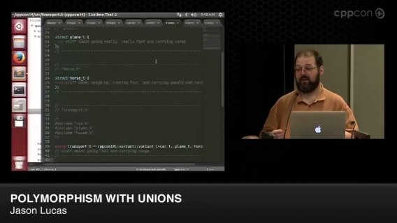 Polymorphism With Unions