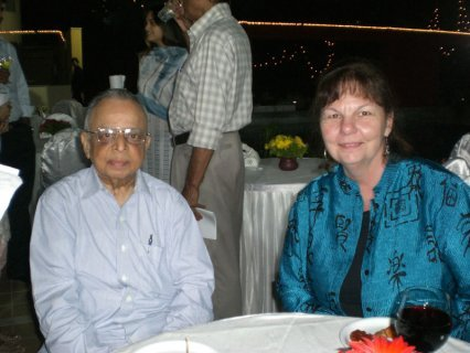 Balvant Parekh and Andrea
