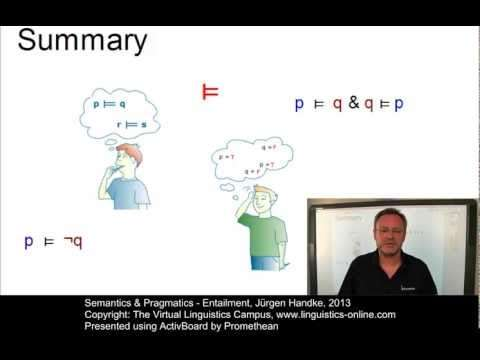 pragmatics summary Pragmatics summary essay pragmatics 1 definitions and background pragmatics: is concerned with the study of meaning as communicated by a speaker (or writer) and interpreted by a listener (or reader) it has more to do with what people mean by their utterances it.