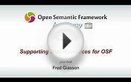 3 - Open Semantic Framework Web Resources