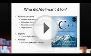 Bjarne Stroustrup - The Essence of C++: With Examples in