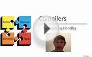 Compilers 08-02: Recognizing Handles