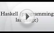 Haskell (programming language)