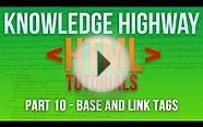 How to program in HTML #10 - Base and Link Tags