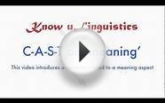 KnowULinguistics - Meaning