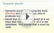 LO34: Semantic Trees in Predicate Logic