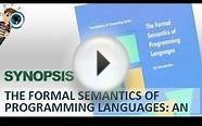 Synopsis | The Formal Semantics Of Programming Languages