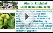 what is triphala and triphala herbal benefits list